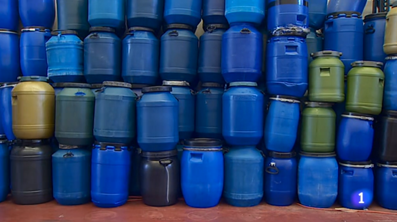 La presencia de la recogida de aceite en RTVE